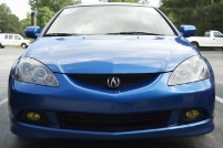 '07 Acura RSX Yellow Fog Overlays