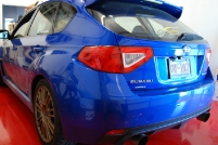 \'08 Subaru STi Red Overlays