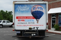 RE/MAX Essential Box Truck Wrap