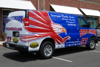 Stevenson Automotive Van Wrap